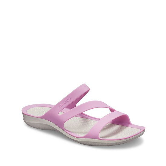 Crocs Swiftwater Sandal 203998 VIOLET/PEARL WHITE