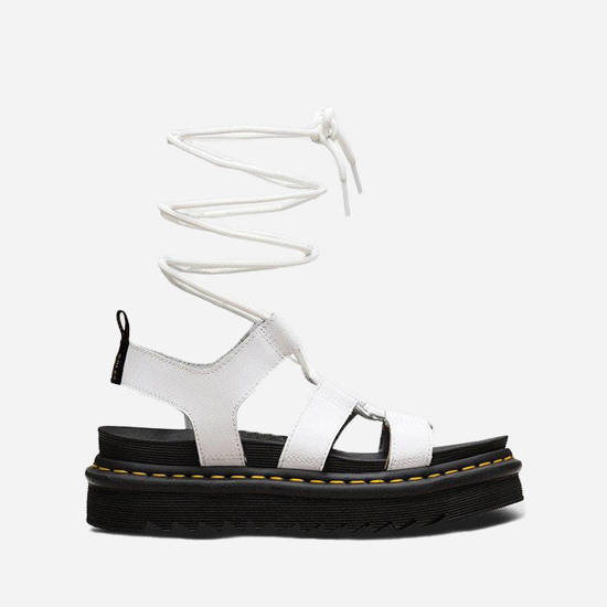 Dr. Martens Nartilla White Hydro Leather 24641100