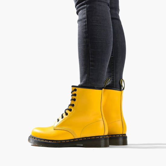Shoes Dr Martens 1460 Yellow 24614700